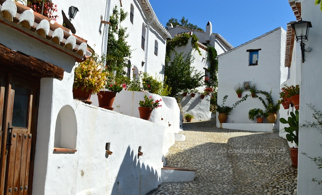 Village houses in El Acebuchal, Andalucia, Spain