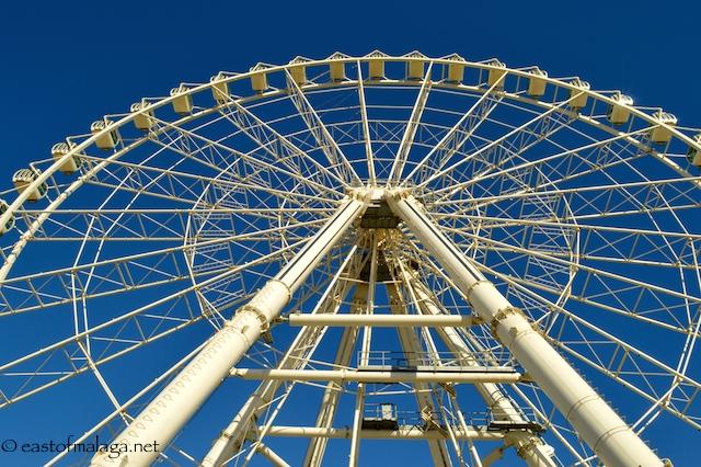 Malaga's new ferris wheel