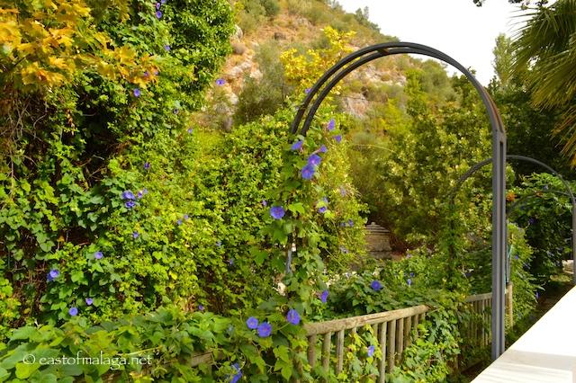 Head through the pretty archway to Baños de Vilo, Periana