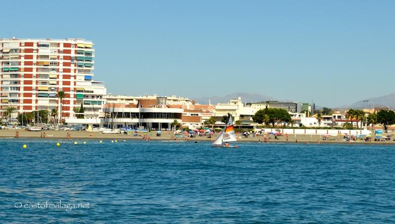 The sailing club, viewed from La Pinta