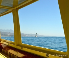 Out sailing from Caleta