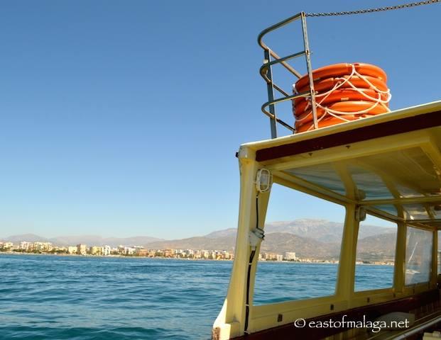 Sailing off the coast of La Axarquia