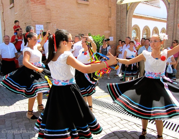 Fiestas and festivals are part of every day life