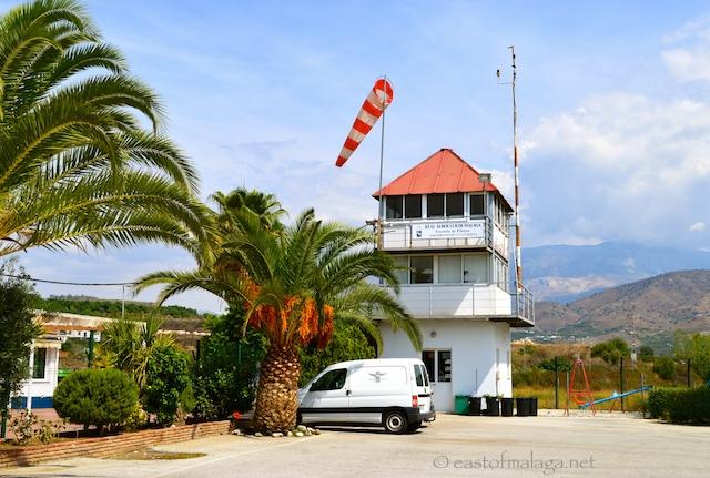 Control Tower at El Trapiche airport