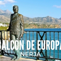 Just the King and I on the Balcón de Europa, Nerja