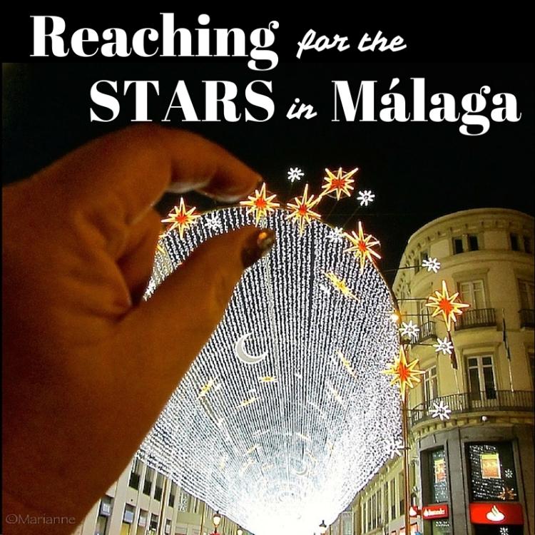 Malaga Christmas lights 2015